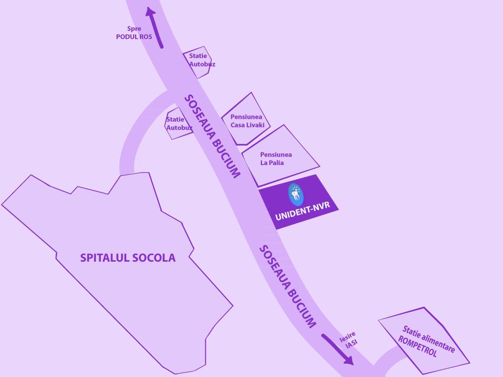 Harta pentru localizare - UNIDENT-NVR